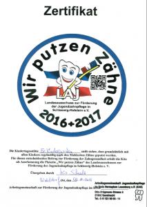 zertifikat-zaehneputzen